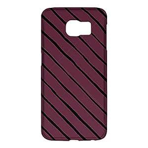 Loud Universe Samsung Galaxy S6 3D Wrap Around Confetti Pattern Print Cover - Purple