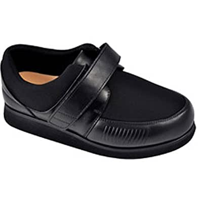 Apis Mt. Emey 628-E Women's Therapeutic Extra Depth Edema Shoe: Black 4.5 XXX-Wide (10E) Velcro