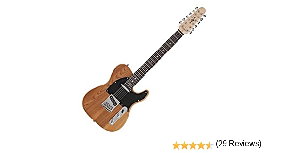Guitarra Electrica Knoxville Deluxe de 12 Cuerdas de Gear4music ...