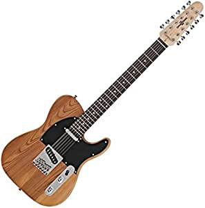 Guitarra Electrica Knoxville Deluxe de 12 Cuerdas de Gear4music ...