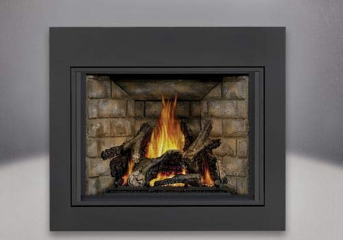Ascent X 70 Direct Vent Gas Fireplace with Clean Face Front - LP