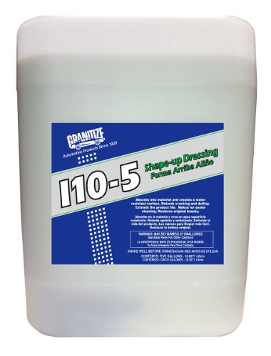 Granitize I-10 Auto Shape Up Rubber-Plastic-Vinyl Dressing - 5 Gallon
