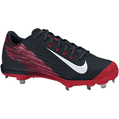Baseball Cleats Lunar Low Pro Scarlet Metal Nike Black Vapor Men's 4YS4ZnP
