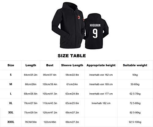 De Et Cadeau Sweat No 16 shirt Sweat Ac Football Milan Shocly Femmes Hommes Noël Club nxHq0wCdZ