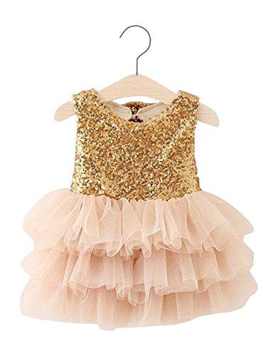 j adore gold sequin dress - 6