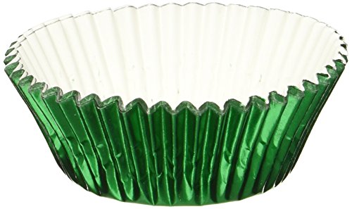 Fox Run 4925 Foil Standard Bake Cups 32 Cups Green