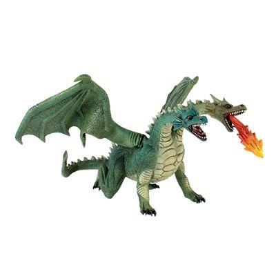 Dragón Cabezas De 2 Juguete Color Bullyland Verde 63896 OkPXwiuTZ