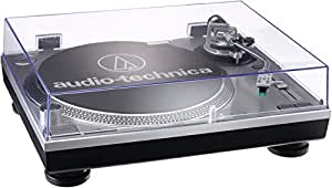 Audio Technica AT-LP120USB - Tocadiscos para equipo de audio, plateado