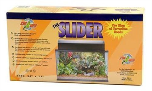 Zoo Med Deluxe Slider Reptile Hood, 24-Inch by Zoo Med