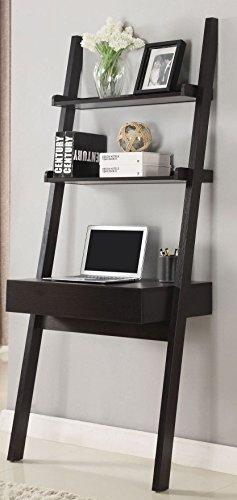 (Coaster Furniture 801373 CO-801373 Ladder Desk Cappuccino)