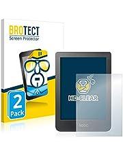 """BROTECT 2x Schermbeschermer compatibel met Kobo Clara HD (6"""") Screen protector transparant"""