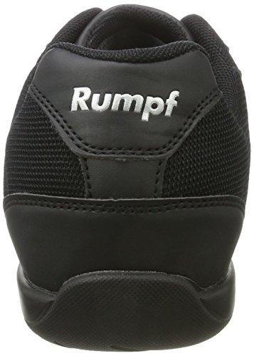 Rumpf 1530 Trainer Dancesneaker Tanzschuhe Gymnastik Sport Schuhe schwarz Schwarz