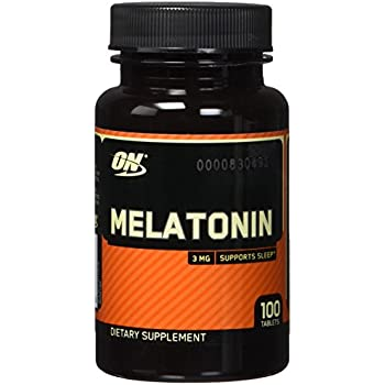 OPTIMUM NUTRITION Melatonin 3mg Tablets, 100 Count