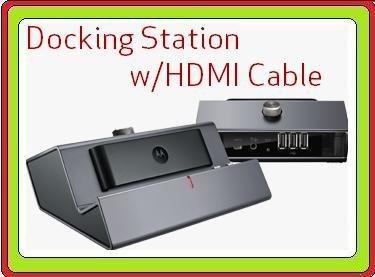 Motorola MZ617 MZ609 Droid Xyboard Dock Premium Hdmi Docking Station W/hdmi Cable Desktop - Motorola Docking Station