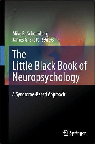 The little black book of neuropsychology a syndrome based approach the little black book of neuropsychology a syndrome based approach 2011th edition fandeluxe Gallery