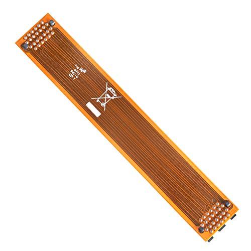 2 WaySLI Flexible Bridge, 120mm Long VGA Card SLI Crossfire Cable Interconnect Connector Replacement for ASUS Nvidia (Cable Nvidia Sli)