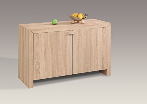 Milan JOSLYN-BUF - Glass Oak Sideboard