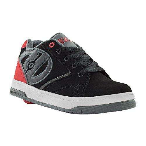 Heelys HE100032M Men's Propel 2.0 Sneakers, Black/Red/Grey – 9