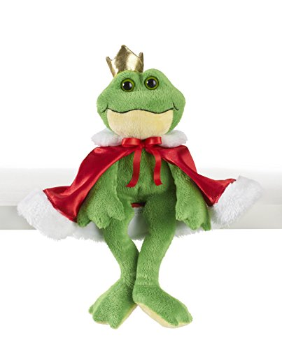 Prince Collection Frog (Ganz Frog Prince Plush with Cape, 7.5