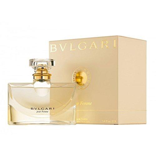 Bvlgari Pour Femme Eau De Toilette Spray for Women 3.4 oz/ 100 ml