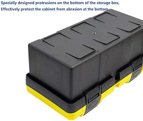 LHT 多機能家庭用ツールボックスの高強度のハードウェアツールボックスプラスチックツールボックス ツールボックス (Size : S)