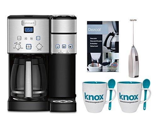 Cuisinart SS15 Premium Single Serve Coffeemaker + Knox Mugs + Frother + Descaler
