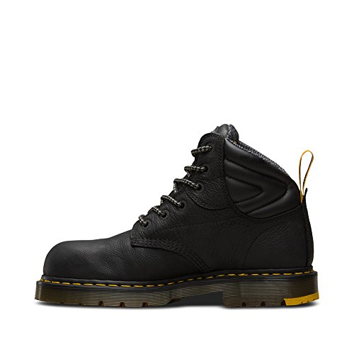 – Hynine Scarpe St Antinfortunistiche Adulto Unisex Black Dr Martens q5AaHwxAY