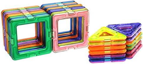 Tinksky 30st DIY intelligente magnetische magnetische Bausteine pädagogisches Spielzeug für Kinder Kinder Gehirnentwicklung (zufällige Farbe) festgelegt