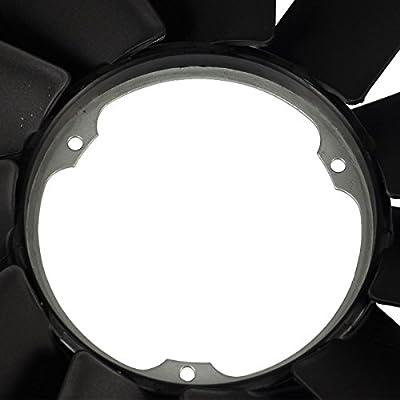 Radiator Cooling Fan Blade for BMW E31 E32 E34 E38 E39 530i 540i 740i 750iL 840Ci 850i: Automotive