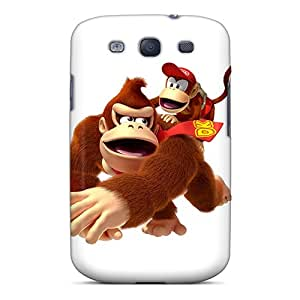 Bumper Hard Cell-phone Case For Samsung Galaxy S3 (DsY22716bqLw) Unique Design Stylish Donkey Kong Pictures