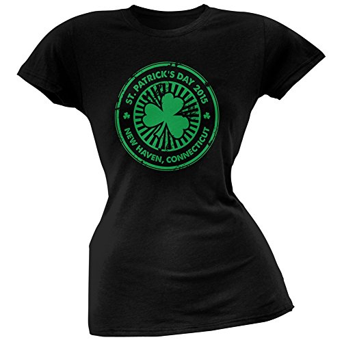 Old Glory Damen T-Shirt Schwarz Schwarz