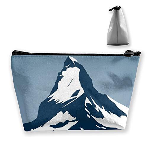 Cosmetic Toiletries Travel Bag The Matterhorn Mountain In -