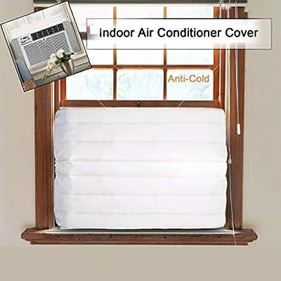 Fenebort Christmas Winter Window Indoor Air Conditioner Cover for Air Conditioner Indoor Unit