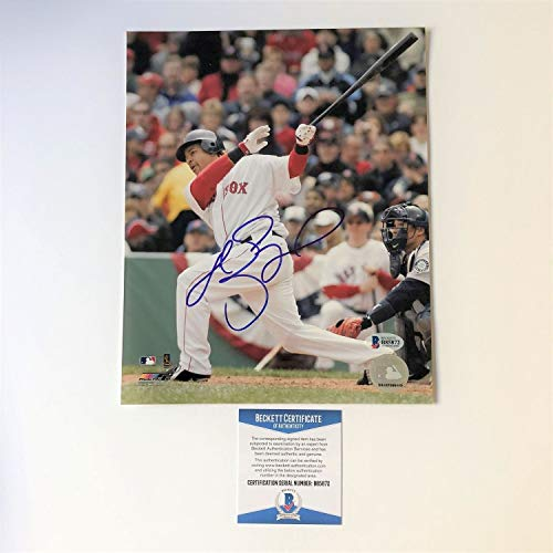 Manny Ramirez Autographed Signed 8x10 Photo Beckett Boston Red Sox Autographed Signed