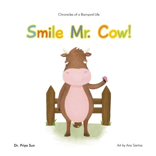 Chronicles of a Barnyard Life: Smile Mr. Cow!
