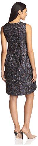 Rowley Plum Dress Metallic Cynthia Women's Jacquard CwPOqvx