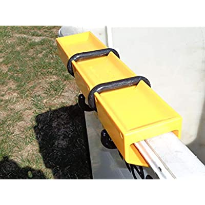 Bucket Truck Tray, with Hooks, Water Repellent Outside Weather Protection, Durable with Easy Visual Management of Hardware | Complete with 2 Tool Tray Hooks, Perfect Tool Bag Holder: Home Improvement