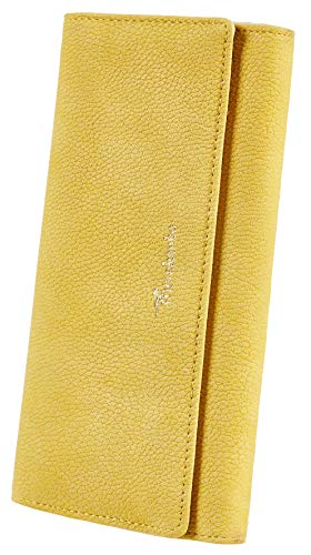 Travelambo Womens Wallet Faux Leather RFID Blocking Purse Credit Card Clutch 1