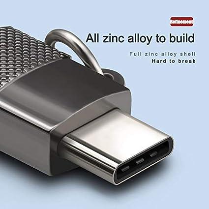 Micro Adaptador USB Tipo C Convertidor de Carga del teléfono ...