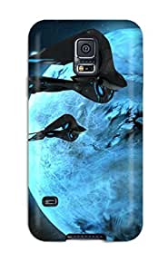 Hot Tpye Spaceship Case Cover For Galaxy S5