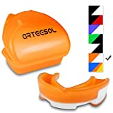 Arteesol Mouth Guard, Protective Gum Shield Tooth Guard Mouthguard with a Case for Boxing, Football, MMA, Rugby, Hockey and Other Contact Sports