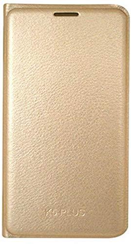 coverage Flip Cover for vivo y69   vivo 1714   golden