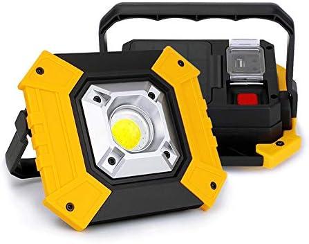 LED Arbeitsstrahler USB Strahler Baustrahler für Baustelle Garage Werkstatt DE