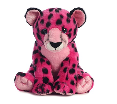 Aurora World Destination Nation Animal Cheetah Plush, -