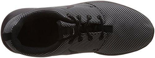 Nike Roshe One Premium, Zapatillas de Running para Hombre Negro / Blanco (Black / Black-White)