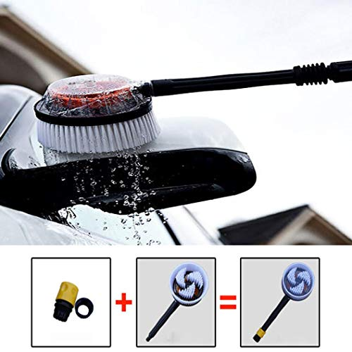 Wash Rotating Cleaning Brush Auto Rotation Car Truck Vehicle