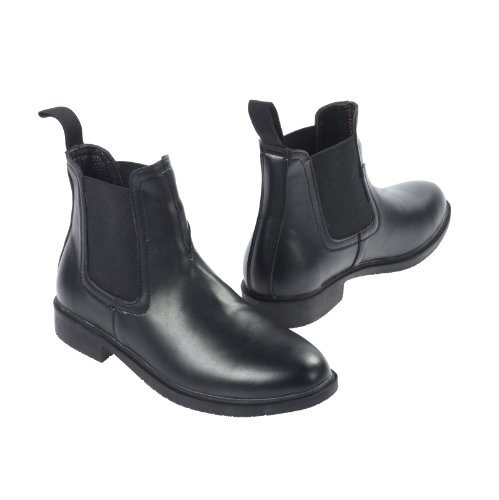 Essentials Jodhpur D'équitation Boots Noir Just Togs EZ5wTFqKzn