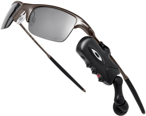c3bb9ea63e4b Amazon.com: Bluetooth RAZRWIRE Oakley Sunglasses - Black: Cell ...