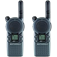 Motorola Business CLS1110 5-Mile 1-Channel UHF Two-Way Radio (Two Count)