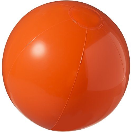 Bullet Bahamas Solid Color Beach Ball (9.8 inches) (Orange) -
